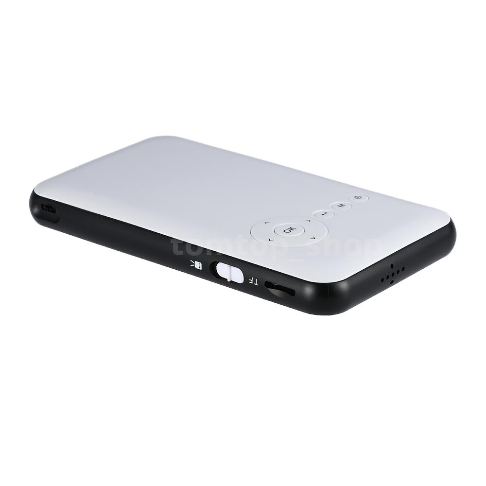 Wireless mini wifi bluetooth dlp multimedia projector 1080p for android 0o9a ebay for Small bluetooth projector